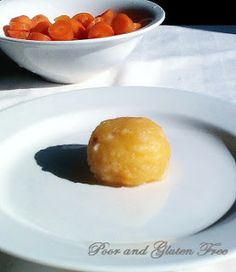 Poor and Gluten Free (with Oral Allergy Syndrome): Gluten Free German Potato Dumplings