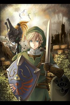 This has got the be like the 10 millionth time he's had to save Zelda and Hyrule.