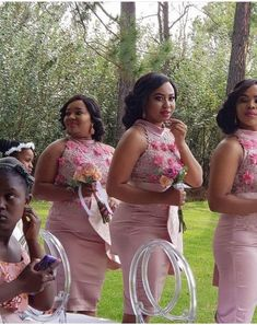 Glamorous Bridesmaids Dresses, African Bridesmaid Dresses, African Wedding Dress, Rose Gold Wedding Dress, Pink Wedding Gowns, Bridal Lace, Latest African Fashion Dresses, African Dresses For Women, African Attire