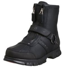 Polo Ralph Lauren Men's Conquest 2 Hi Boot Polo Boots Men, Mens Shoes Boots, Mens Boots Fashion, Men's Boots, Moda Retro, Carapace, Chunky Boots, Trail Shoes, Designer Boots