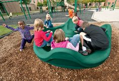 Invite #children of all abilities to the #playground with the OmniSpin® Spinner.