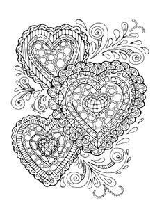 Adult Colouring Page:Original Digital by LittleShopTreasures