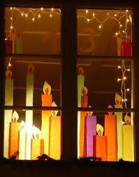 Bildergebnis für Adventsfenster Dekoration Selber Machen Christmas for you Noel Christmas, Winter Christmas, Christmas Lights, Christmas Windows, Christmas Balls, Christmas Christmas, Christmas Ornaments, Christmas Window Decorations, Navidad Diy
