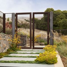 Decorative Gates Design Ideas, Pictures, Remodel and Decor