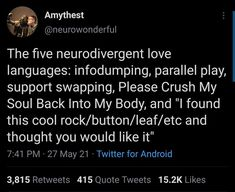 Divergent, Adhd Brain, Adhd And Autism, Add Adhd, Totally Me, Tumblr, Love Languages, Text Posts, Tweet Quotes