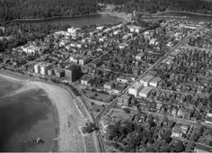 A 1945 Shot of West End's English Bay. Via http://vintageairphotos.com/ (Tweeted)