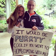 kitten promposal or hocopromposal - 20 best promposals or hocopromposals