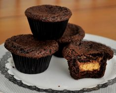 Chocolate peanut butter cup cupcakes. These are delicious...won't write how many I ate in one sitting