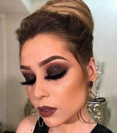 41 Trendy Makeup Bronze Tipps Make Up - - Wedding Makeup Videos Glam Makeup, Day Eye Makeup, Bronze Makeup, Makeup Is Life, Smokey Eye Makeup, Eyeshadow Makeup, Makeup Tips, Makeup Art, Beauty Makeup