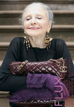 """In our series """"What Beauty Means to Me,"""" women from different backgrounds share their thoughts on aging, modern challenges, and of course, their makeup and skin care secrets. This week, we interview Joyce Carpati, a stylish senior citizen living in New York City.Joyce Carpati has been many things: opera singer, wife, mother, grandmother."""