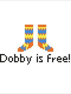 Dobby Socks Cross Stitch Pattern Instant by Nineteenohsix on Etsy
