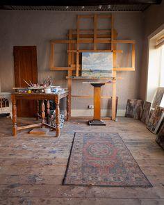 art studio design, my art studio, dream studio, studio ideas Art Studio Design, Art Studio At Home, Painters Studio, Art Studio Organization, Dream Studio, Studio Studio, Atelier D Art, Creative Studio, Art Studios