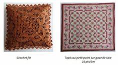 Sylvie Auffret, Rue Desire - crochet and petti-point