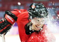 Sidney Crosby at Team Canada practice