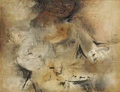 Silueta, 1969 Lilia Carrillo - Style - Art Informel