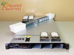 Dell PowerEdge R610 Dual E5506 QC H700 2.13GHz 64GB 2x 146GB 15K SAS Rails RPS