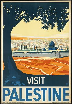 I have this clearly retro tourism poster hanging in my house.