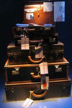 Princess Diana travel suitcases