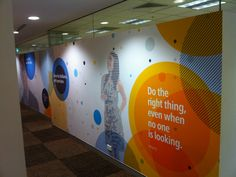 Wall Art Ideas Design Quote Digital Large Format Text Office