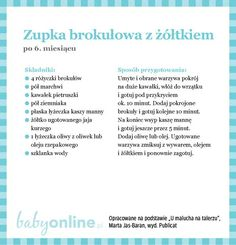 Przepisy dla niemowlaka - Zupki dla niemowlaka | Strona 9 | Baby online