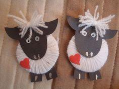 Beránci Preschool Crafts, Easter Crafts, Fun Crafts, Diy And Crafts, Crafts For Kids, Arts And Crafts, Spring Art, Spring Crafts, Holiday Crafts