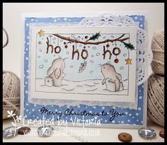 Vixx Handmade Cards: LILI OF THE VALLEY DT POST ~ CHRISTMAS SNEAK PEEK ...