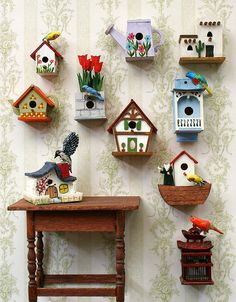 Birdhouses- from the practical to the whimsical, I love them!