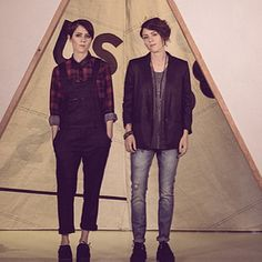Let us be in awe of their insane sense of style. | 33 Reasons To Be Thankful For The Existence Of Tegan And Sara