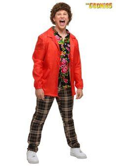 Theme Halloween Costumes: TV / Movie Costumes - The Goonies Adult Chunk Costume Theme Halloween, Halloween Cosplay, Halloween Gifts, Halloween Costumes, Halloween Ideas, Halloween 2017, Movie Costumes, Cool Costumes, Cosplay Costumes