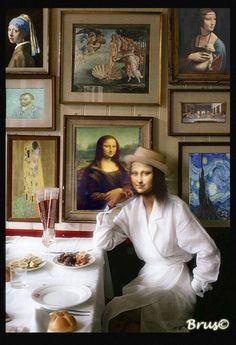 Mona Friends, Mona Lisa Parody, Mona Lisa Smile, Instagram Story Filters, Old Movie Posters, Illusion Art, Tour Eiffel, Funny Art, Cute Wallpapers