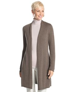 Chico's Women's Girlfriend Cardigan
