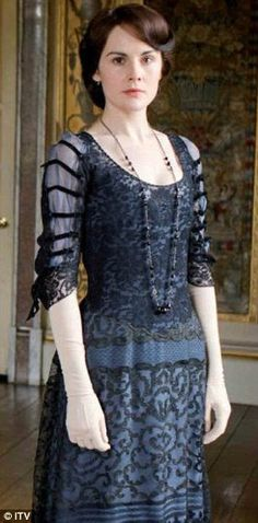 Titanic 1900s Downton Abbey Edwardian Mary Evening by MattiOnline