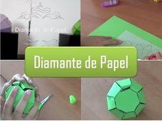 Another Broke Girl: Como fazer um diamante de papel?