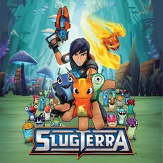 SLUGTERRA game poster