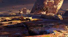 The Maker: Visions of Dune: Arrakis, Kunrong Yap on ArtStation at https://www.artstation.com/artwork/GvPQd