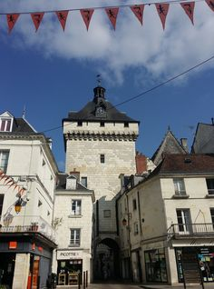 Loches, Indre-et-Loire_ France