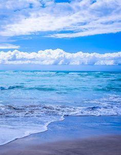 Random Inspiration | Blue beach ocean sea