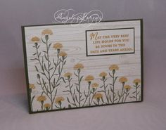 Wild About Flowers by CraftyAng - Cards and Paper Crafts at Splitcoaststampers