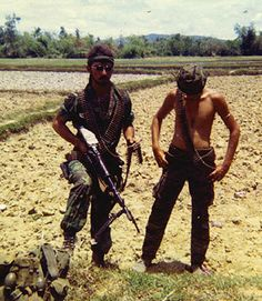Two men of the 20th Infantry Regiment, Americal Division/ #VietnamWarMemories