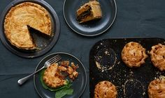 Ruby Bakes: Spiced layered vegetable pie and  spicy bean pies