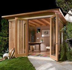She shed / shed quarters
