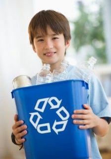 El cuidado de medio ambiente por chicos