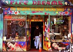 The Pipe Dreams shop, Haight Ashbury   Where to relive the Summer of Love, #SanFrancisco   Weather2Travel.com #travel #usa #america #hippy #love