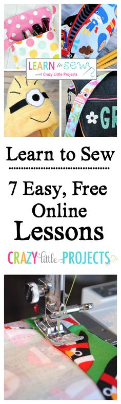Learn to Sew-Free On