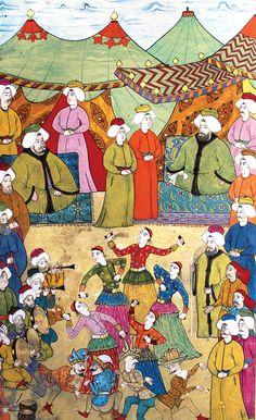Anadolu'ya Türkmen yerleşimi ve hızla İslamlaşmanın ardından daha öncesinde İtalyan kaynaklarında Romania olarak bilinen bu coğrafyanın adı 14. Yüzyılın ortalarından itibaren Turchia[1] ile değiştirilmiştir. İtalyanlar daha öncesinde Karadeniz'in kuzeyinde Tatarlar, Peçenekler ile karşılaşmış, kolonilerinde birlikte yaşamış, kültürel ve ticari ilişki kurmuş olmalarına karşın Türk kelimesini Türkçe konuşan bu halklar için hiç kullanmadan, Anadolu'da dışında yaşayan …
