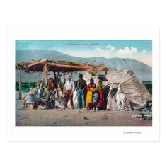 A Piute Indian Camp with NativesNevada Postcard   camping gift basket, camping baby, adventurous gifts #airstreamlife #camper #camperlife What To Take Camping, First Time Camping, Camping With A Baby, Beach Camping Tips, Camping Places, Tent Camping, Camping Ideas, Camping Checklist, Camping Essentials