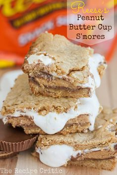 Reeses Peanut Butter Cup Smores at http://therecipecritic.com  These are absolutely fantastic and taste just like a smore!