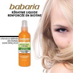 Babaria - Kératine liquide renforcée en biotine - 100ml