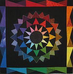 738 Best Color Wheel Quilts Images On Pinterest Rainbow Quilt