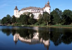 Lacko Castle, Lidkoping in Vastergotland, Sweden. Amazing!